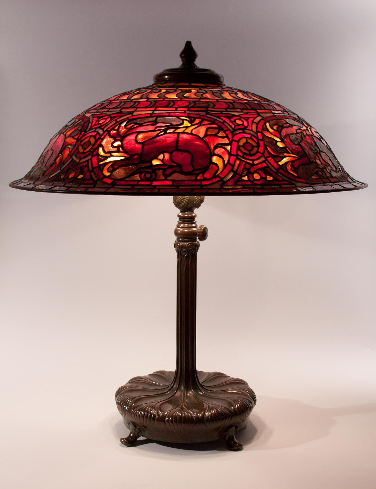 ebay know all the facts before selling your tiffany lamp or antique. Black Bedroom Furniture Sets. Home Design Ideas