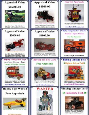 selling buddy l trucks buying buddyl trucks buying toy collecti8ons free toy appraisals